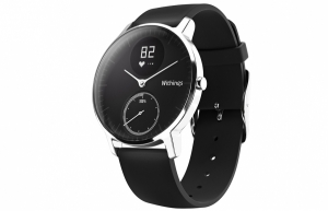 WITHINGS STEEL HR - 36 mm - Svart i gruppen  hos Motormännens Riksförbund (HWA03_01)