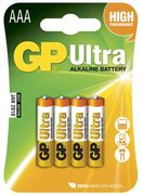 GP AAA Ultra - 4 Pack