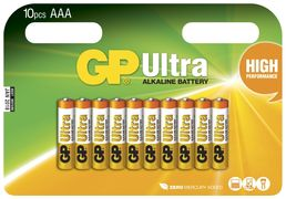 GP AAA Ultra - 10 Pack